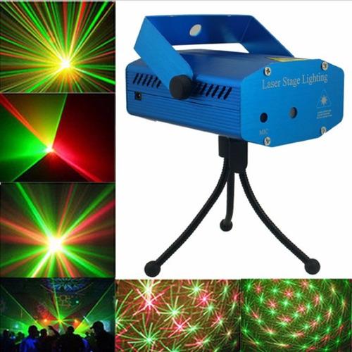 kit festa iluminação dj balada 4x1 jogo de luz