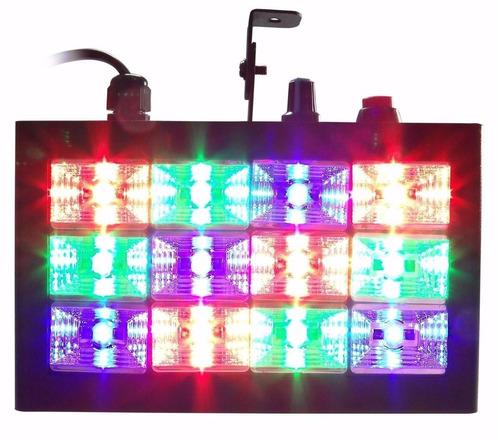 kit festa iluminação dj luz negra bola mágica jogo de luz