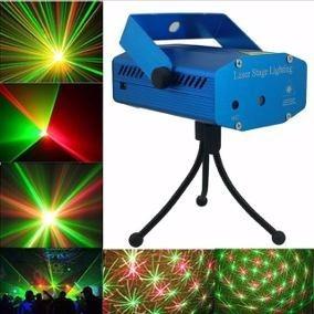 kit festa iluminação jogo de luz aniversario buffet dj strob