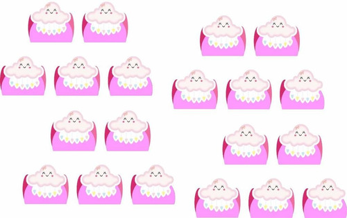 kit festa infantil chuva de benção menina 160 pças