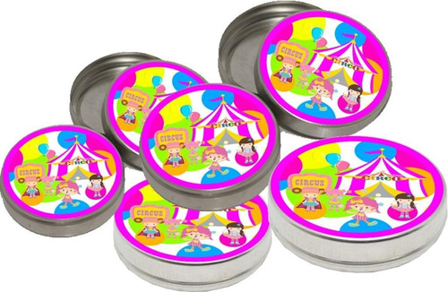 kit festa infantil circo menina  143 peças