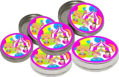 kit festa infantil circo menina 160 peças