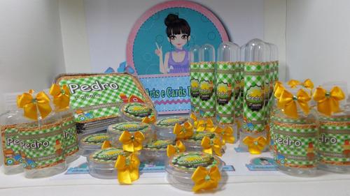kit festa infantil fazendinha - temos vários temas