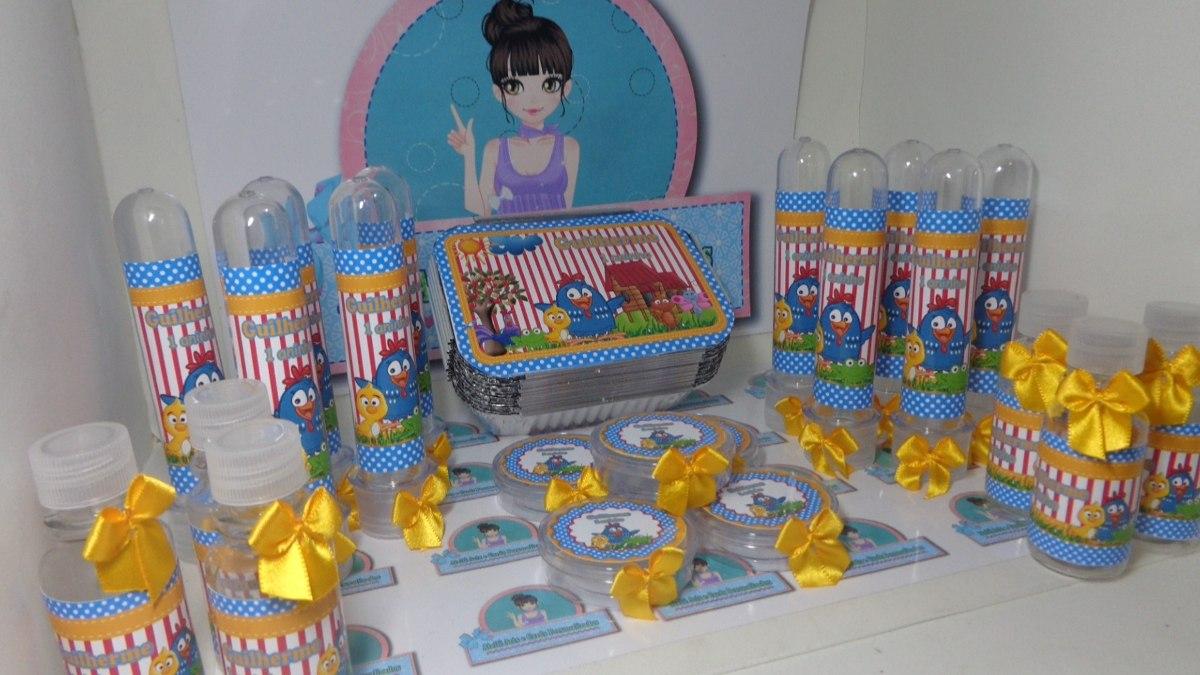 Aparador Espelhado ~ Kit Festa Infantil Galinha Pintadinha Temos Vários Temas R$ 290,00 em Mercado Livre