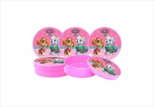 kit festa infantil patrulha canina (skye e everest) 99 peças