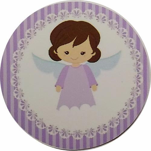 kit festa infantil personalizad 195 adesivo batizado menina