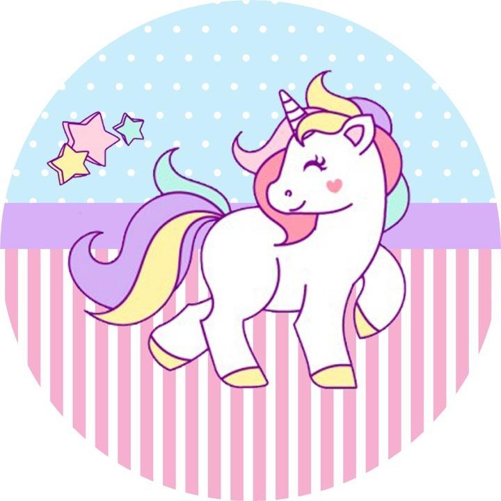 Adesivo De Parede Arvore Infantil ~ Kit Festa Infantil Personalizado 195 Adesivos Unicornio R$ 44,40 em Mercado Livre