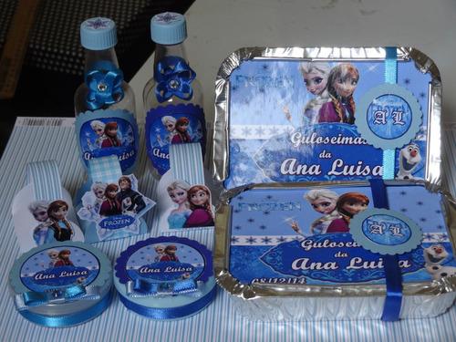 kit festa personalizado 300 itens
