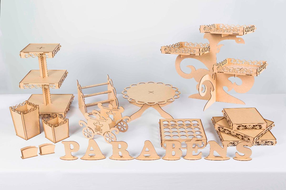8f19970c9 kit festa provençal - mdf cru - decoração 21 peças. Carregando zoom.