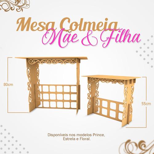 kit festa provençal mesa mãe  filha colmeia arabesco prince