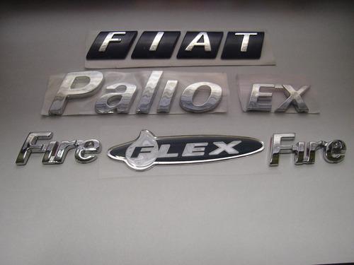 kit fiat mala + palio + ex + 2 fire + flex 05/08 - bre