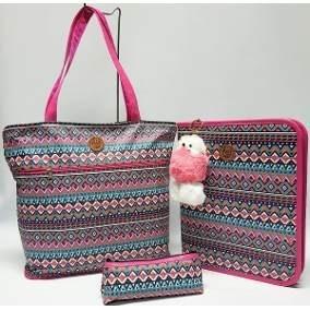 7c366d18b Bolsa De Emoji Escolar Rosa - Cadernos e Papéis no Mercado Livre Brasil