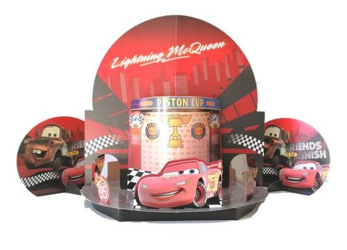kit fiesta de cumpleaños cars 3 disney kit cumple
