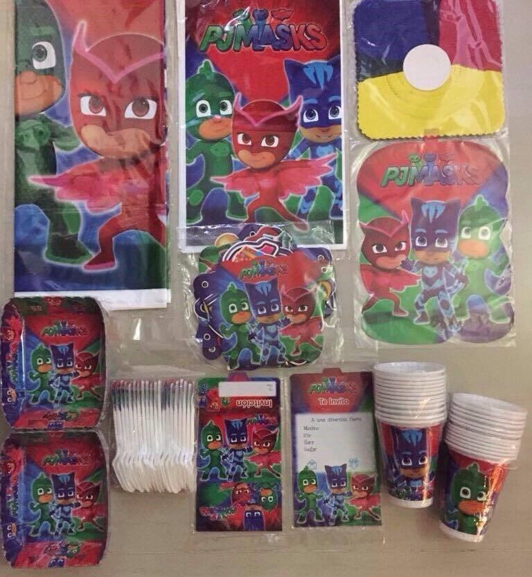 9c668c84fb Kit Fiesta Piñata Infantil Heroes En Pijama - Pj Masks -   35.000 en  Mercado Libre