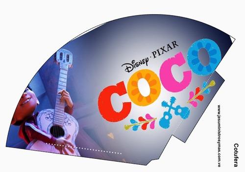 kit fiestas imprimible coco invitacion cajitas disney
