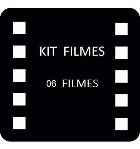 kit filmes ( 6 filmes á sua escolha)