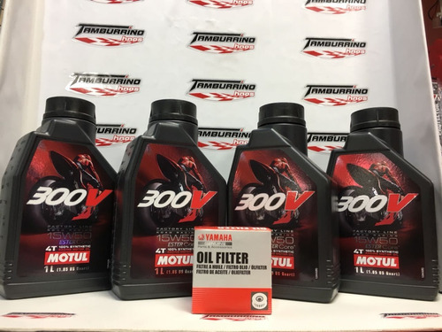 kit filtro + aceite yamaha super teneré 1200-tamburrino hnos