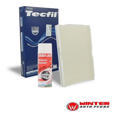 kit filtro ar condicionado + limpa ar new civic 1.8 16v 07/.