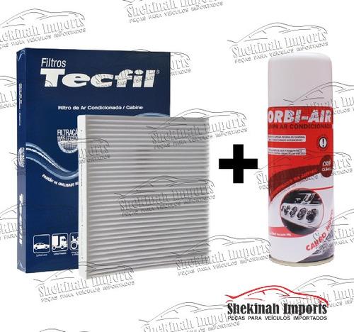 kit filtro ar condicionado + limpa ar tucson 2.0 após 2013