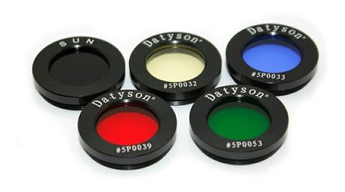 kit filtro para telescópio astrônomico, 1,25