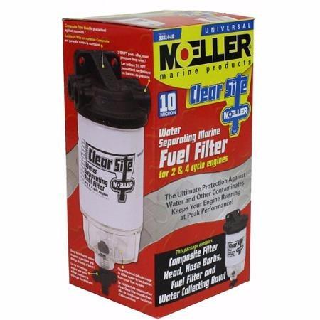 kit filtro separador de agua moller 10 micrones
