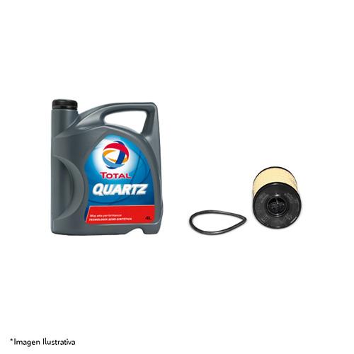 kit filtro y aceite original peugeot 206 1.6 16v