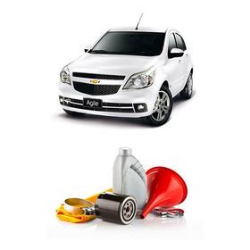 Kit Filtro+aceite Semi + Colocacion P/ Chevrolet Agile 1.4
