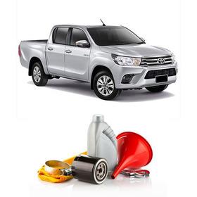 Kit Filtro+aceite Sintet + Colocacion P/ Toyota Hilux 2.5