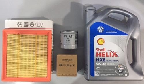 kit filtros ( aire aceite ) + ac vw polo nuevo cola corta