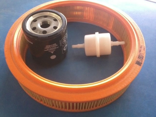 kit filtros chevette chevy marajo filtro oleo+ar+combustivel