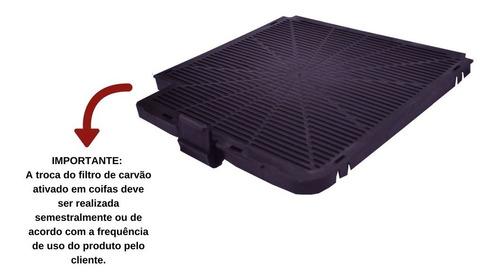 kit filtros cvc slim fogatti (alumínio e carvão ativado)