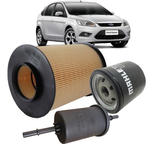 kit filtros de oleo ar e combustível - ford focus 1.6 16v sigma e 2.0 16v duratec 2009 2010 2011 2012 2013