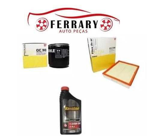 kit filtros e oleo motor astra após 98/