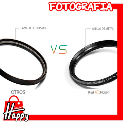 kit filtros macro 58mm +1+2+4+10+paño canon/nikon/etc