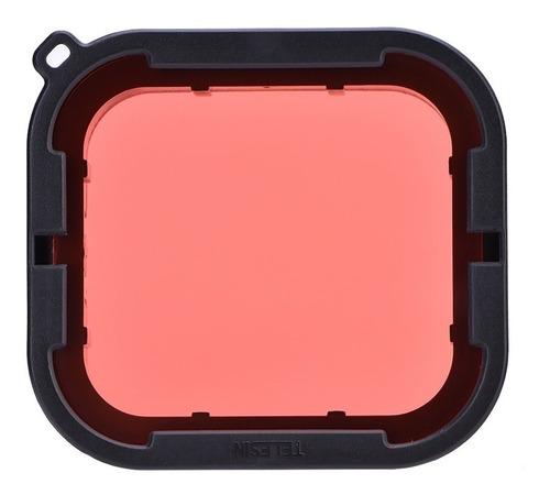 kit filtros magenta rojo gopro hero 5 6 telesin