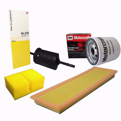 kit filtros óleo ar comb separador - ford fiesta zetec rocam