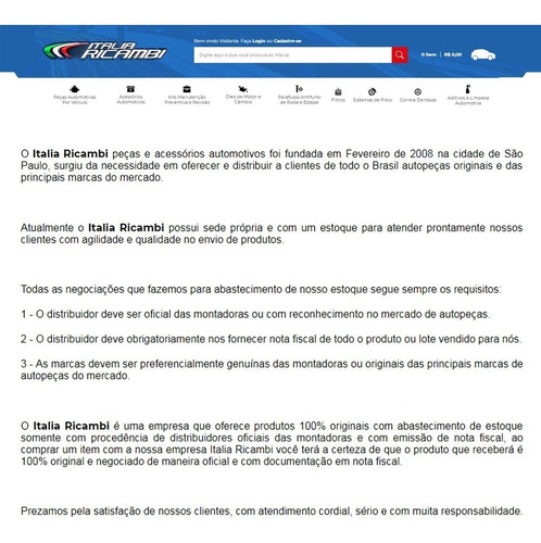 kit filtros óleo ar combustivel focus 1.6 16v 2.0 até 2013