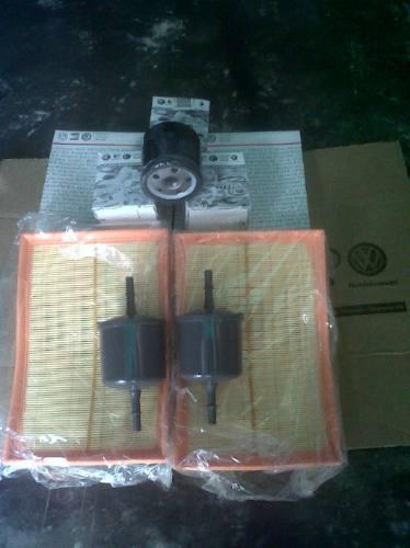 kit filtros original para fox crossfox spacefox polo dedan