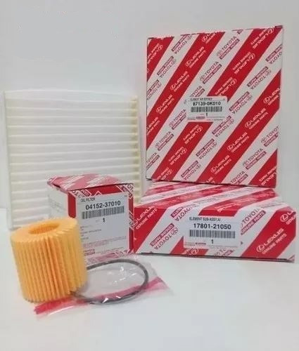 kit filtros originales toyota corolla 2012-2018