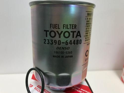 kit filtros originales toyota hilux 2.4 / 2.8 - 1997-2004