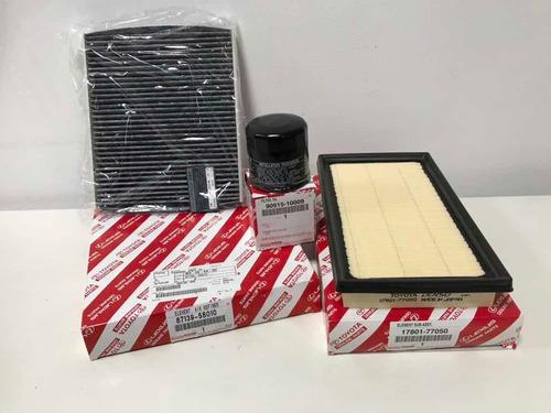 kit filtros toyota rav 4 híbrido 2020 original