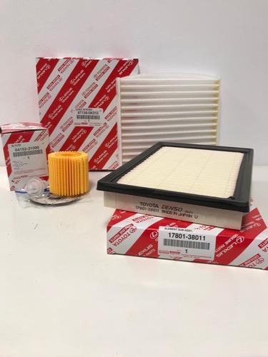 kit filtros toyota rav 4 original 4x4 2013-2018