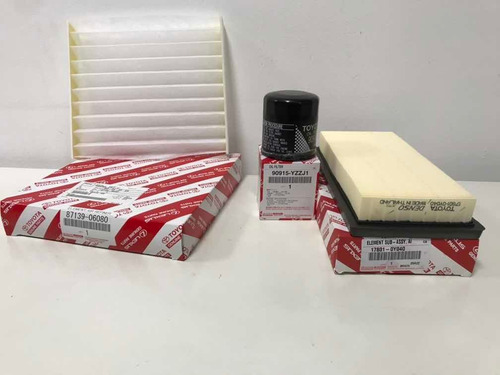 kit filtros toyota yaris original 2016-2019