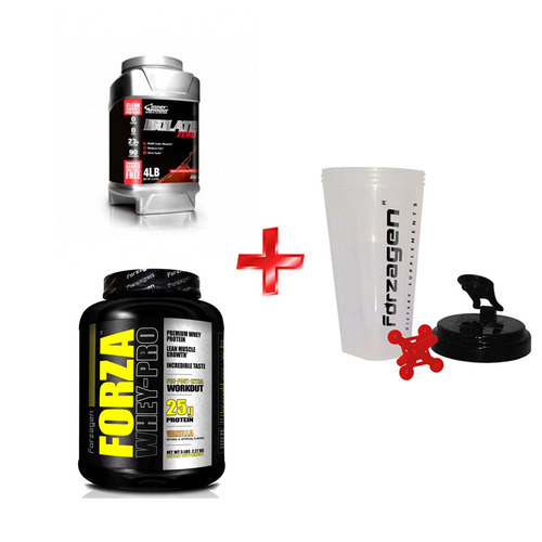 kit fit couple proteina isolate +2 shaker nutrition systems