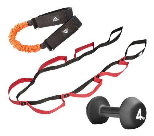 kit fitness adidas para entrenamiento en casa