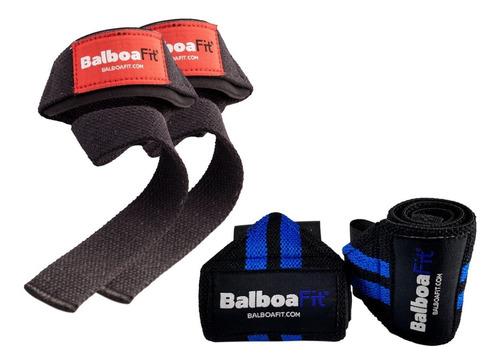 kit fitness muñequera straps cintas poder balboafit crossfit