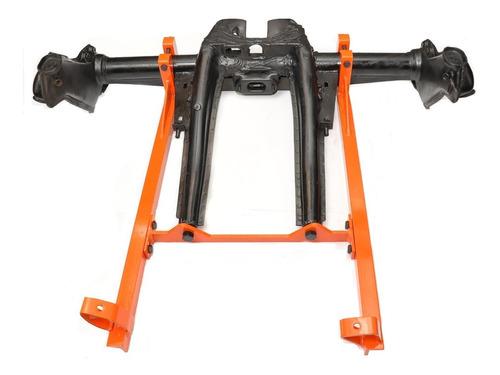 kit flange motor ap ferro fundido no chassis do fusca