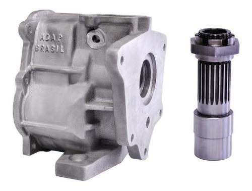 kit flange motor gm ohc s10 2.4 x câmbio chevette