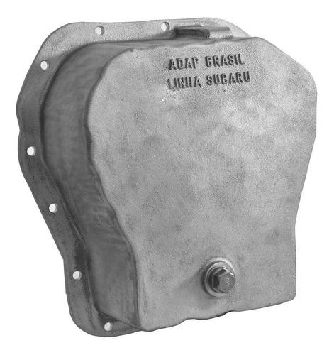 kit flange motor subaru x câmbio do fusca + carter + adptdor