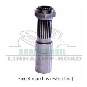 kit flange willys 6cil x câmbio chev x red + disco embreagem - 4marchas